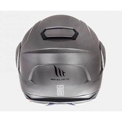 MT Helmet Atom Matt Titanium
