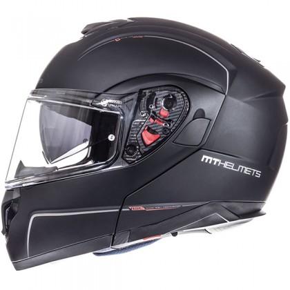 MT Helmet Atom Matt Black