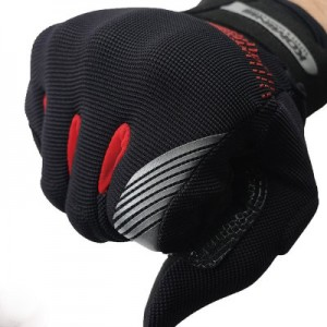 Komine GK-228 GE Protect Mesh Glove Black Red