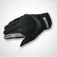 Komine GK-228 GE Protect Mesh Glove Black Grey