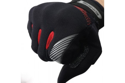 Komine GK-228 GE Protect Mesh Glove Black Grey