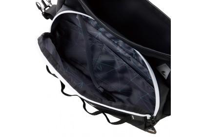 RS Taichi RSB279 WP Hip Bag Black Red