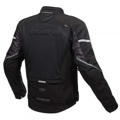 KOMINE JK-139 Waterproof Half Mesh Jacket Black