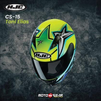 HJC CS-15 Toni Elias 24 MC4H