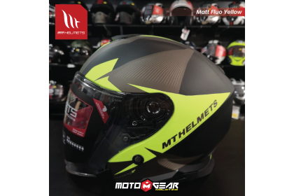 MT Helmet Jet C4 Matt Yellow