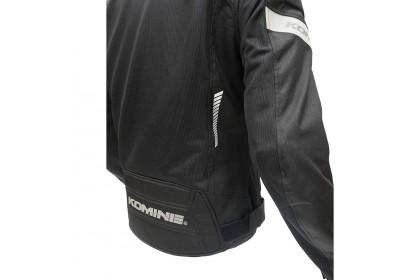 KOMINE JK-133 Air Stream Mesh Jacket Black
