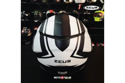Zeus GJ-3100 Matt Black/White