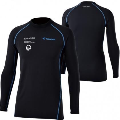RS Taichi RSU307 Cool Ride Basic Under Shirt (Black/Blue)