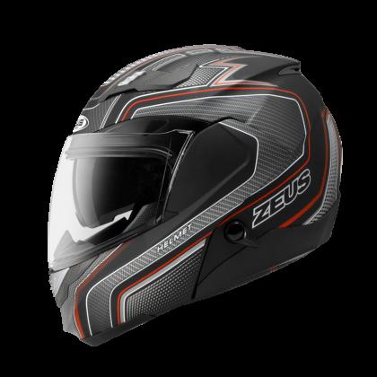 Zeus Helmet GJ-3100 YY5 Red Black