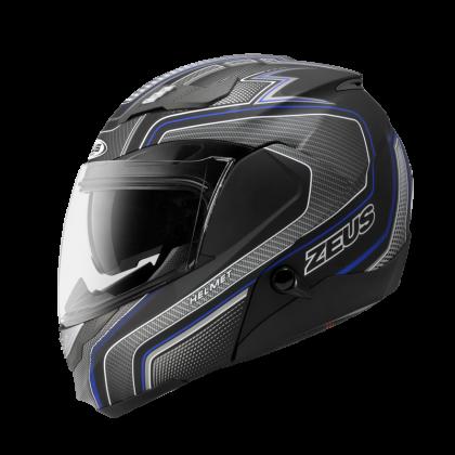 Zeus Helmet GJ-3100 YY5 Blue Black