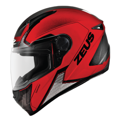 Zeus Helmet GJ-811 AL6 Matt Red Black
