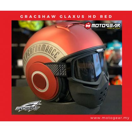 Gracshaw Glaxus HD Flat Chrome Red