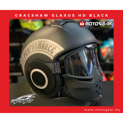 Gracshaw Glaxus HD Flat Black