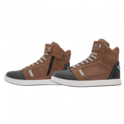 KOMINE BK-084 Protect WP Riding Gear Sneaker Brown