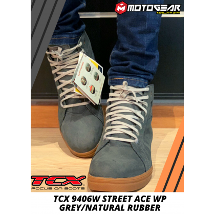 TCX 9406W STREET ACE WP GREY/NATURAL RUBBER