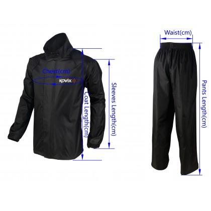 Kovix Rain Coat Black