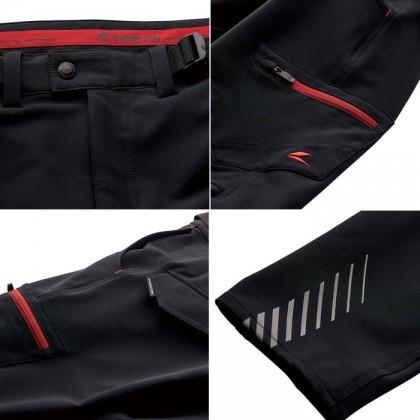 RS Taichi RSY258 Quick Dry Cargo Pants Black Charcoal