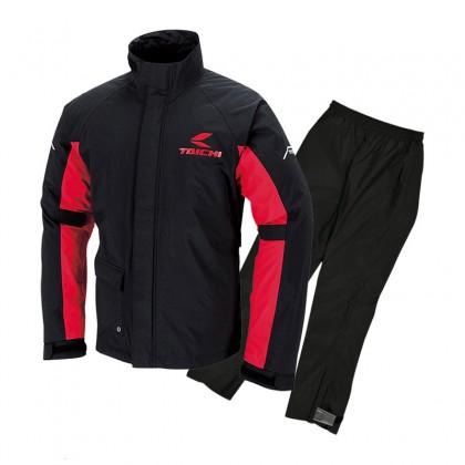 RS Taichi RSR045 Drymaster Rain Suits Black Red
