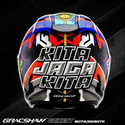 GRACSHAW GRIXENT FRONTLINER BLACK RED