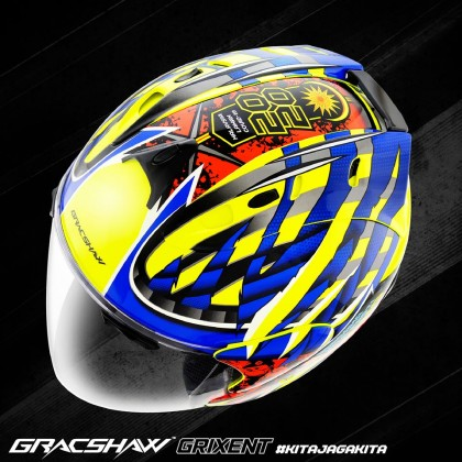GRACSHAW GRIXENT FRONTLINER YELLOW BLUE