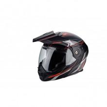Scorpion Exo Adx-1 Anima Matte Black Red Helmet