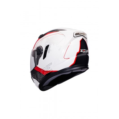 ZEUS ZS- 813 AN10 WHITE RED