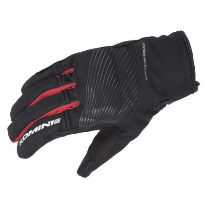Komine GK-245 Protect Rain Gloves Black/Red