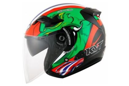 KYT Helmet Venom Open Face Thitipong Moto2 Replica