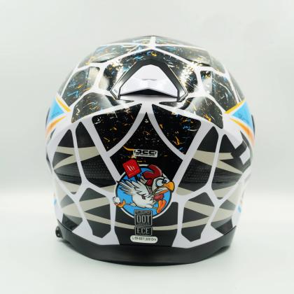MT Helmet Thunder 3 SV Jet Juanfran A0 Gloss Pearl White