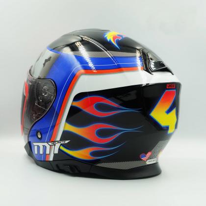 MT Helmet Thunder 3 SV Jet Garzo 2020 A5 Gloss Red