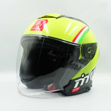 MT Helmet Thunder 3 SV Jet Nepa A3 Gloss Fluo Yellow