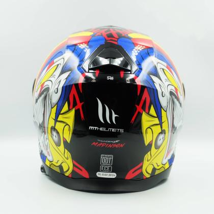 MT Helmet Thunder 3 SV Jet Madison C5 Gloss Red