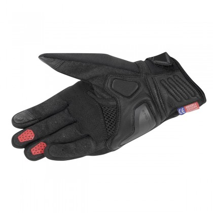 KOMINE GK-237 Protect Mesh Gloves Black Red