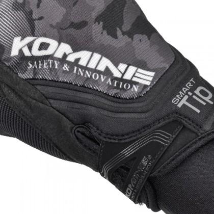 KOMINE GK-237 Protect Mesh Gloves Red