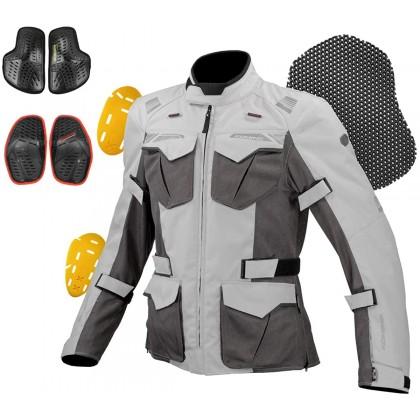 Komine JK-150 Protect Mesh Adventure Jacket Black