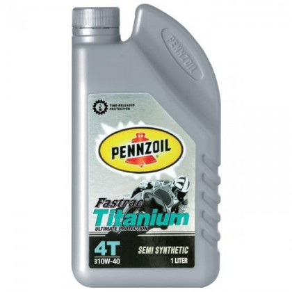 PENNZOIL Fastrac Titanium 4T Semi Synthetic 10W40