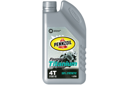 PENNZOIL Fastrac Titanium 4T 100% Synthetic 10W40