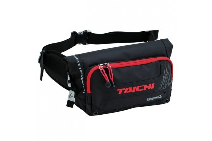 RS TAICHI RSB270 Waterproof Hip Bag (Black/Red)