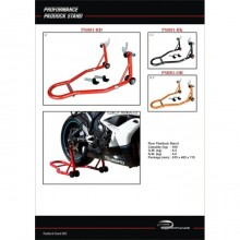 Proformance Universal Paddock Stand Rear (Red)