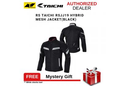 RS Taichi RSJJ19 Hybrid Mesh Jacket (Black)