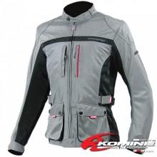 KOMINE JK-057 Touring Long Mesh Jacket CLASSIC (Titanium)