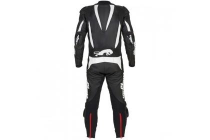 Furygan Dark Apex Perforated 1 Piece Suit - Black / White