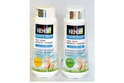 KEEP Happy Feet Foot Odor Removal Powder