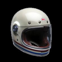 BELL Helmet Bullitt (Stripes Pearl White)