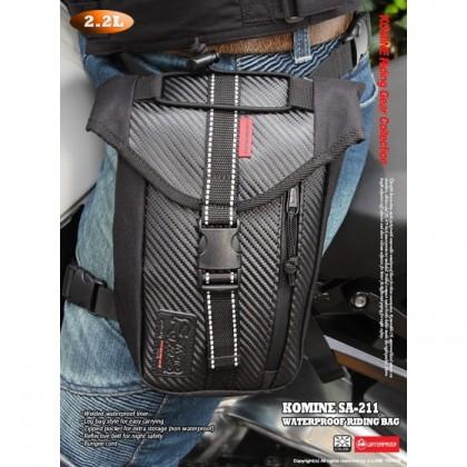 KOMINE SA-211 Waterproof Leg Bag
