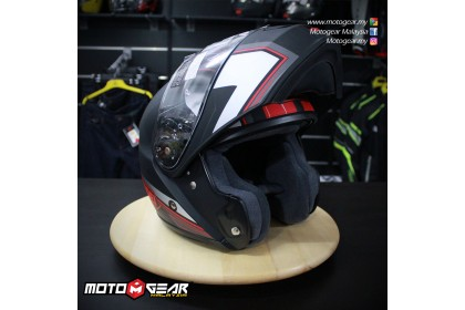 Shoei Neotec Imminent (Tc-1) Red/Black