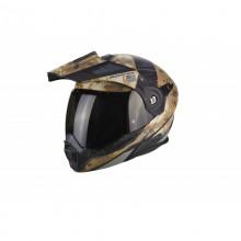 Scorpion Exo ADX-1 Battleflage Sandy Grey Helmet