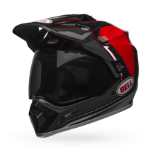 Bell MX-9 MIPS-Equipped Berm Black/White/Red