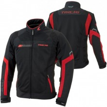 RS Taichi RSJ320 Crossover Mesh Jacket (Black/Red)