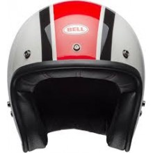 BELL Helmet Custom 500 (Gloss Ace Stadium Silver/Black)